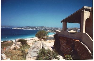 Photo for PANORAMIC VILLA 450 M FROM THE BEACH
