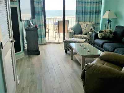 Photo for OCEANFRONT CONDO  2BR 2BA  IN UNIT WASHER DRYER,  WIFI