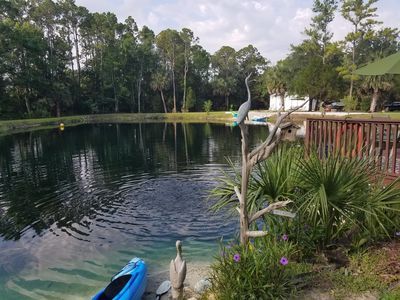 The Lake and Tree house at the Lake Retreat of Steinhatchee-  Only the best!!