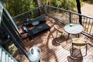 A fantastic deck space for drinks, dinner & wildlife watching.