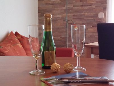 A warm welcome to us at Haus Alexandra ****… ..