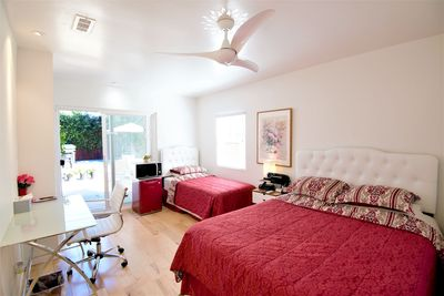 Luxury Master Bedroom with private access and private backyard