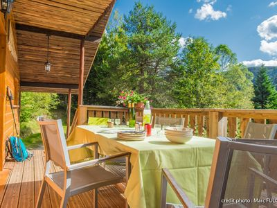 Photo for Superb traditional chalet in the heart of the Vosges, renovated