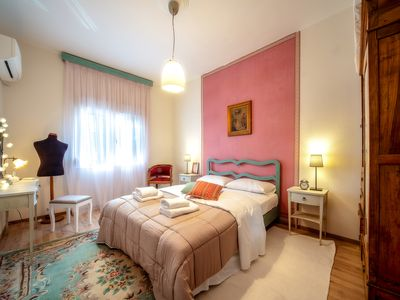 Photo for a comfortable apartment with romantic notes in historical center of the town.
