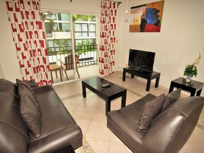 Photo for Apartment with 2 bedrooms, ground level
