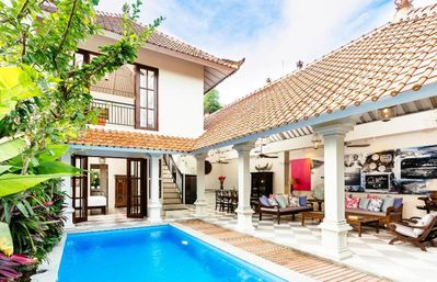 Photo for 2 BR Tropical Paradise Villa, Seminyak>