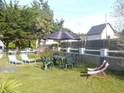 Photo for VILLA AGON COUTAINVILLE, independent, 200 meters from the sea, WIFI