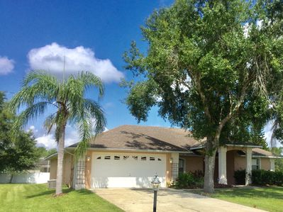 Spacious 4 bedroom pool home on over sized lot in Doral Woods.