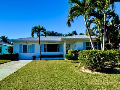 Vacation house in the Clearwater Beach community.
