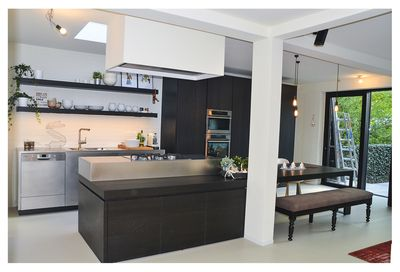 Fully equipped brand-new kitchen