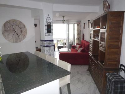 Photo for Mi Casa. 2 bedroom apartment in central Nerja. 75m2. Close to Balcon de Europa.