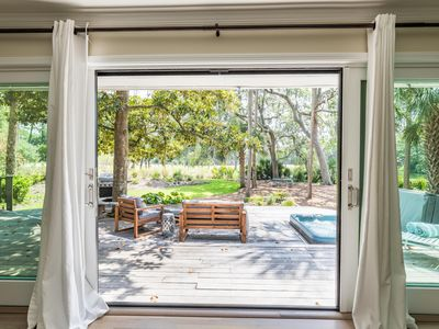 Photo for Newly Renovated, Idyllic location on Seabrook Island