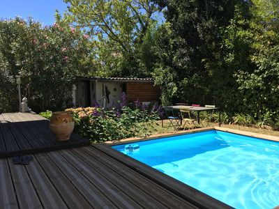 Photo for House in Toulouse with garden & pool near downtown (subway rose garden)
