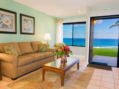 Photo for Sealodge H4-Updated 1br/1ba ground floor condo, spectacular oceanfront views!