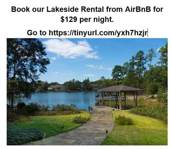 Photo for Private Lake Front Apartment - Hot Springs Village