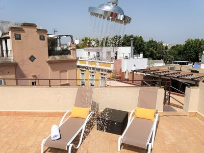 Photo for Sunny Penthouse with 2 Terraces, Center of Seville