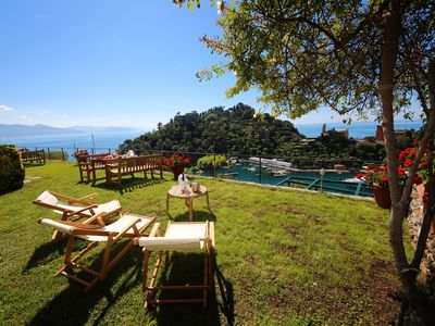 Photo for SKIPPER by KlabHouse- 3BD w/Terrace and garden above Portofino