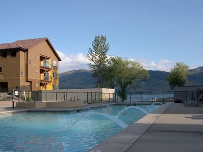 Photo for *July Special * Deluxe Large 2 floor Lakefront Condo with Pool and Hot Tub!