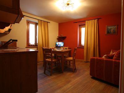 Photo for Delightful two-room apartment in the heart of Bardonecchia