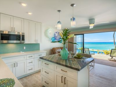 Light, bright, beachy coupled with breathtaking views from every angle