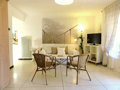 Photo for T1 classified 3 STARS of 37m2, Terrace 11m2, Garden, Sandy beach at 450 m