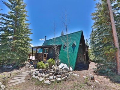 Photo for Spectacular Views - Cozy A Frame Cabin in Grand Lake minutes from RMNP.