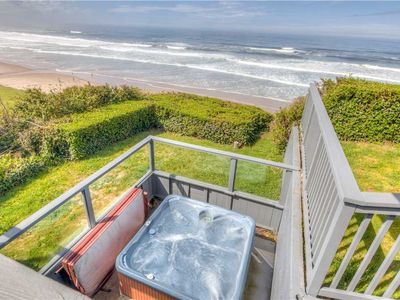 Photo for Huge Luxury Oceanfront with Multiple Decks and Hot Tub