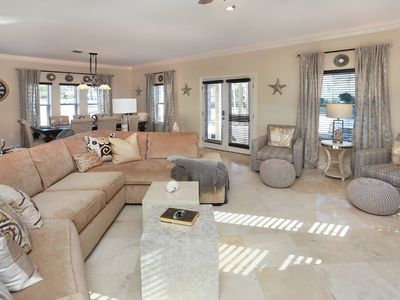 Photo for Attractive Fall Rates, Six Public Beach Accesses; 5 Bed/5 Bath Home, Sleeps 14
