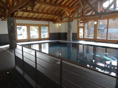 Photo for Rental summer / winter Samoens - Apartment 4-8 people with swimming pool