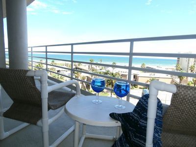 Photo for Padre Paradise- A 2 Bedroom 2.5 Bath Private Condo With Gulf And Bay Views