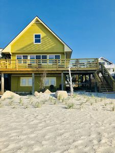 Photo for OCEAN FRONT! 1960 CLASSIC AMERICAN FAMILY BEACH HOUSE 3 bed 2 bath sleeps6...