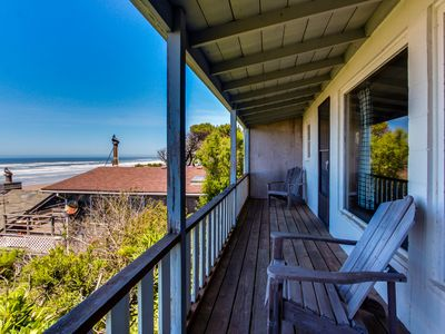 Photo for Dog-friendly, waterfront cottage w/Pacific views & cozy features!