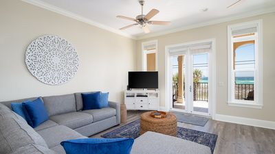 Photo for July Available! Walk To The Beach! 3 Story Home! 2 Balconies With Gulf Views!