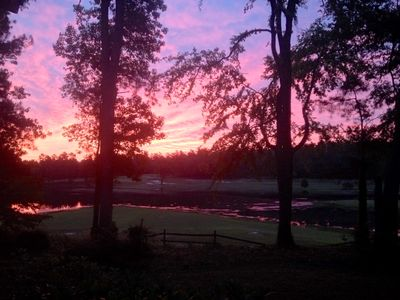 Photo for Enjoy Masters Week Looking Out Over A Golf Course!