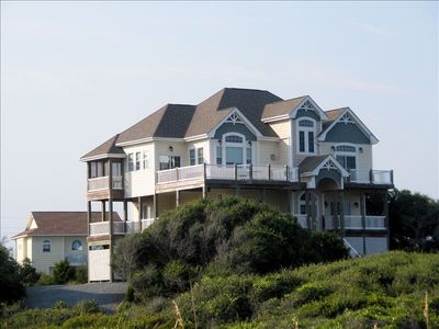 Photo for Dolphin Shores. Beautiful Ocean/SoundViews. Elevator, hot tub