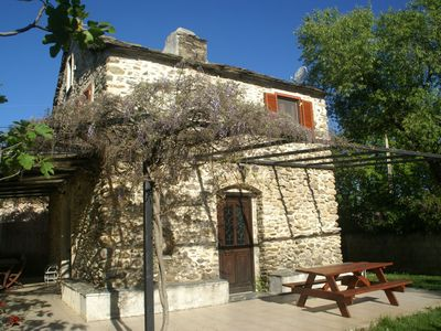 Photo for Fully restored house from 1816, swimmingpool, Corsica.