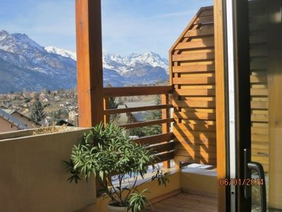 Photo for Apartment facing the Ecrins