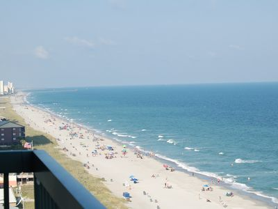 Photo for Beachfront Corner Unit - New Listing - Spectacular Views, Pools, Hot Tub, Wifi !