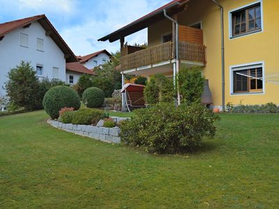 Photo for Beautiful apartment in the Bavarian Forest with garden and covered terrace
