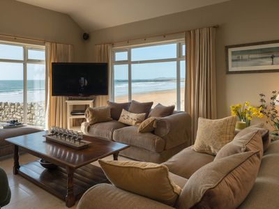Photo for The Red House - Beach front holiday home in Rhosneigr