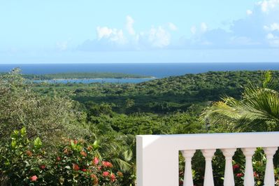 Caribbean and Southern Bays from Poolside