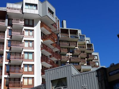 Photo for Apartment 371 m from the center of Tignes with Internet, Lift, Parking, Balcony (98727)