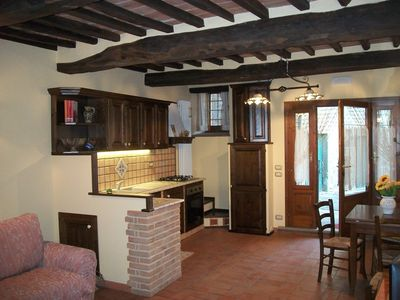 Photo for Typical Tuscan style apartment