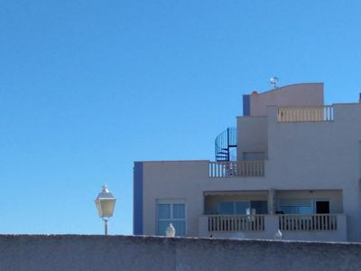 Photo for Penthouse with large terrace and views of the golf course