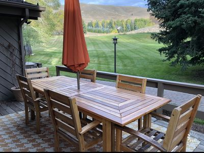 Photo for Modern rustic condo in the heart of iconic Sun Valley