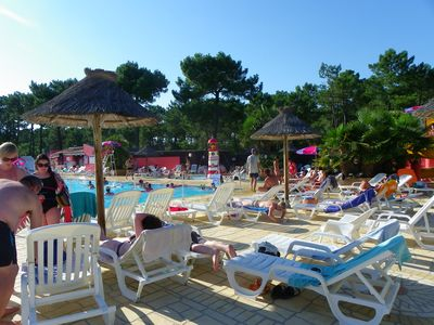 Photo for Comfortable mobile home 2/6 people camping Bonne Anse Plage 4 *