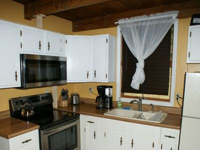 Photo for Convenient studio, comfortable, mins to skiing, hike for days