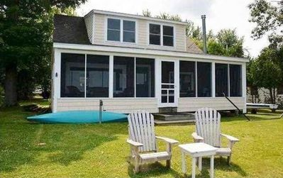 Photo for Relaxing Waterfront Cottage in Lake Ontario's Golden Crescent