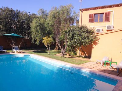 Photo for Villa Sa Taulera with Mountain View, Wi-Fi, Garden, Pool & Terraces; Parking Available, Pets Allowed upon Request