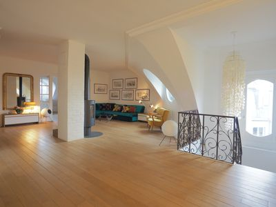 Photo for Stunning 150m² penthouse - Opera / Montmartre district - 3 bedrooms